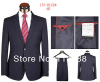 2014 Free shipping high quality fashion men brand suits business suits coat and pant suits