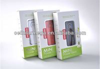 Free shipping Portable Power Bank PB002--6600mAh USB External Backup Battery Power Bank for iPhone iPod mobile phone