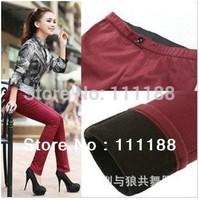 Women's Thickening Fleeces Trousers Fashion Warm Leggings Pencil Pants KZ-010