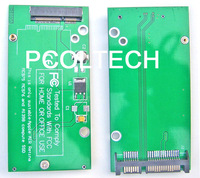Free Tracked Shipping   FOR Apple MACBOOK AIR Retina A1425 A1398 MC975 MC976 MD212 MD213 SSD ssd to SATA Adapter card