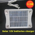 3.2W 12V Solar Panels Battery Charger for Car RV SUV Truck Boat Motorcycle