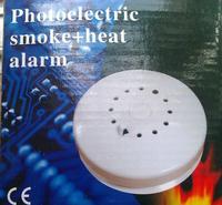 Independent /wired Smoke & Heat Detector Siren & Strobe Alarm | Fire Prevention Smoke & Heat Detector Wholesale & Retail