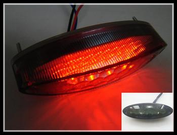 Motorcycle ATV Smoke LED Tail Running Brake Light   FOR Honda Yamaha Suzuki Kawasaki