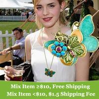 Fashion pendant necklace vintaged Double butterfly necklace Wholesale !
