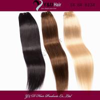 1# 6# 613# 3 Color Mix Full Head Brazilian Virgin Hair Straight Weave Weaving Hair Extension 3pcs/lot 100g/lot 100% Human Hair