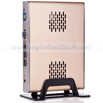 Embedded Linux Mini PC Dual Core Intel D525 1.8GHz, 4G RAM, 160G HDD Network Storage Desktop Smart Hotel PC