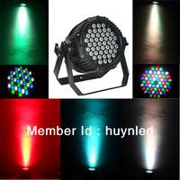 54pcs 3w led  waterproof par light