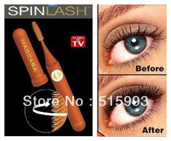 Gently Rotates 360 degree  Spinlash Mascara including mascara brush make big and sexy eyes