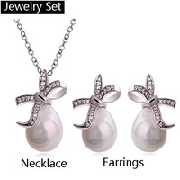 Retail selling jewelry ancient time earrings and necklaces jewelry set4238