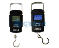 New 50kg/10g Digital Hanging Scale Portable Electronic Luggage Scale Free Shipping 8830