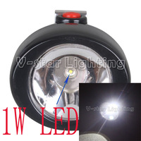 1W KL2.5LM(B) LED No Wiring Miners Camping Hunting Headlight Mining Lighting Cap Lamp Up to 10000 lx