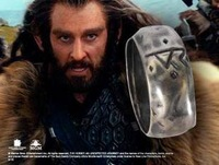 The Hobbit Thorin Oakenshield's Silver Rune Ring