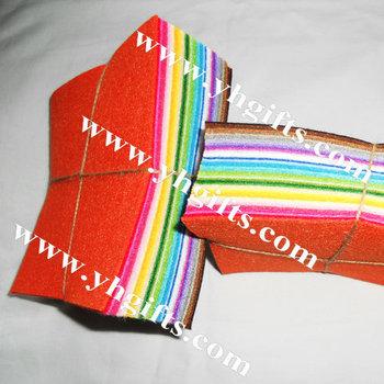 40PCS/LOT.1mm Felt sheets,Fabric sheet,Handmade material,Craft accessories,15x15x0.1cm,40 colo, Freeshipping wholesale
