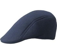 Tide restoring ancient ways one man lady hat pure color han edition from beret leisure hat free delivery