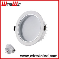 "w led celling light,2.5"",white shell, cast aluminium Free Shipping"