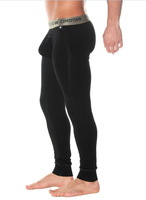 New Arrival! Andrew Christian AC Men's Ultra Thin Modal Underwear Long John Pants with Pouch