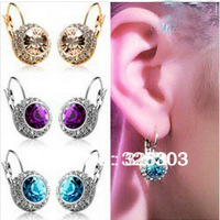 Free Shipping&Factory Sales Directly,Korean Star Fashion,Earrings,Hotselling Wholesaling,CrystaL/XL-C002