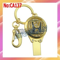 Free shipping wholesale Honda car key USB Flash Drive 1GB/2GB/4GB/8GB/16GB/32GB /64GBJewelry USB Flash memory #CA137