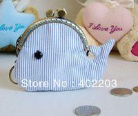 free shipment-cluth purse-handmade-ocean line-fish-coin purse-gifts-5pc/lot-free shipment