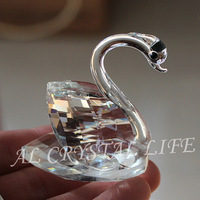 FREE SHIPPING+Wedding Favors Choice Crystal Collection swans+50pcs/lot