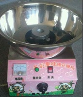 Gas cotton candy machine, multicolour cotton candy maker With battery charger