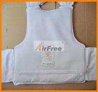 FREE Shipping ULTRA-THIN CONCEALABLE BULLETPROOF VEST Body Armor NIJ IIIA NIJ0101.06 Size M White Color