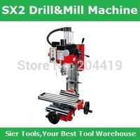 SX2 Mini Mill&Drill Machine/220V,350W micro Drill Machine/Delivery by UPS,DHL or Fedex