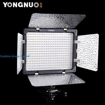 Free Shipping!!Yongnuo YN-300 LED Illumination Dimming Video Light for SLR Camera +IR Remote/studio light