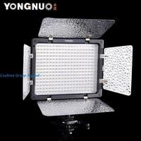 Free Shipping!Yongnuo YN300 LED Illumination Dimming Video camera Studio Flash Light for SLR Camera +IR Remote/studio light
