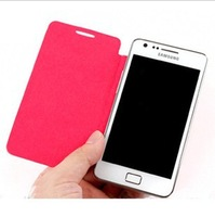 Battery housing  flip Case For Samsung Galaxy s2 i9100 free shipping +free screen protector