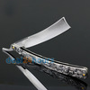 New Straight Edge Stainless Steel Shaper Barber Razor Folding Shaving Knife Aluminum Free Shipping!