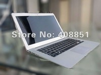"13.3"" laptop Intel I3 Dual Core 1.8GHz 4GB RAM 128GB SSD 8400mAH support android and Windows 8 Free shipping"