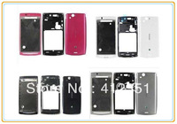 100% New Original Complete Full Housing Cover case + Keypad for Sony Ericsson Xperia Arc S X12 LT15i LT18i Free Shipping
