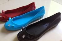 2014 lady flat  shoe  MJ cute  jelly mouse  shoe brand fashion   free shipping