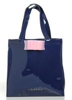 Free Shipping Eco-Friendly Candy Color Vinyl Bag Medium Size and Large Size