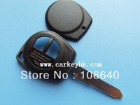 High quality Suzuki Swift 2 buton with no logo remote car key blank shell case cover housing without logo