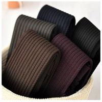 2014 Autumn Winter Necessary Thick Velvet Tights Women Sexy Pantyhose Stripe Leg Warm  Free Shipping