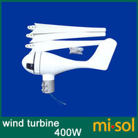 400W Wind Turbine 12V 24V Wind Generator Kit