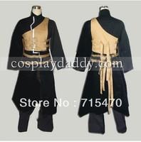 NARUTO Gaara Shippuden Anime Cosplay Costume black dress