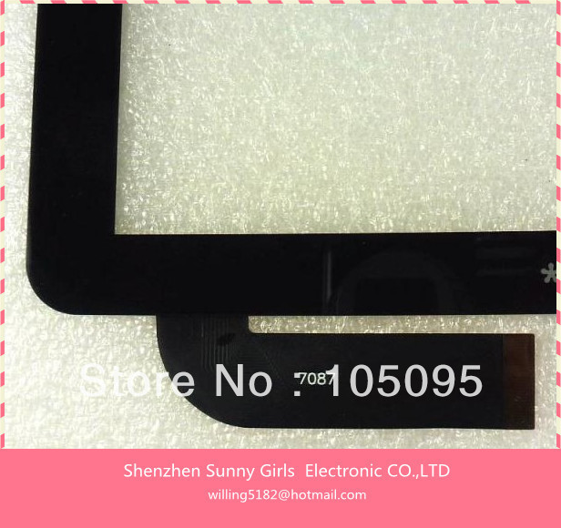 2PCS/Lot 7087 Capacitive Ainol Novo7 Novo 7 Aurora Tablet PC touch screen digitizer Aurora II 2 elf advance MID glass IPS(China (Mainland))