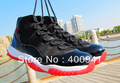 Free shipping 2013 new bred retro 11 basketball shoes for women and men j11 trainers athletic shoes