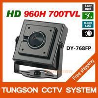 Specialty 1/3'' Sony 960H CCD Effio 700TVL 0.001LUX Covert Mini Video Surveillance Hidden Security CCTV Camera Pinhole Lens