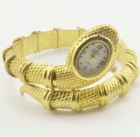 2013 New style Animal Watch Snake Shaped Fashion Bracelet Gold Watch.TOP Quality.Women Dress Watches,Fashion Quartz Watch ML0266