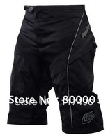 High Quanlity with Pad! 2012 Troy lee design TLD Moto Pant/Shorts Bicycle Cycling MTB BMX DOWNHILL TLD Shorts Black