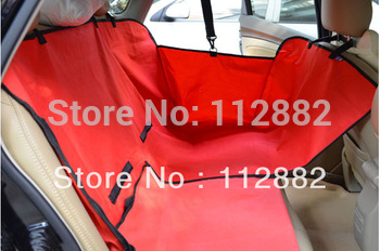 Two Seat Pet Cover, Waterproof Dog Car Seat Cover, Pet Car Mat / Brown, Black, Red, Blue Free Shipping