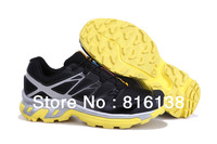 2013 Free shipping Salomon men outdoor shoes good quality walking shoes fashion brand shoes