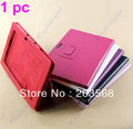 Free Shipping!!! Litchi Pattern Folio PU Leather Skin Case Cover Stand For ASUS Eee Pad TF700 New 6 Colors