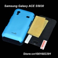 HOT,2 IN 1,FREE SHIPPING,MOSHI Protective ABS Back Case w/ Screen Protector for Samsung Galaxy ACE / S5830