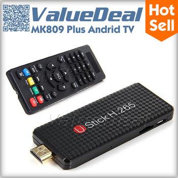 Promotion Original MK808 dual core Stick Tv box  Android 4.1 Mini PC RK3066 1GB RAM 8GB Memory HDMI 1080P XMBC