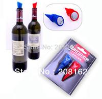 Bottle Stoppers Reusable Vacuum Sealed Red Wine Storage Sealing Plug Beer Bottle Cap 2 Pcs= 1 Set (mix order 10 usd)